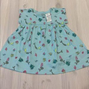 Other - Baby Gap Mermaid Shirt Dress- 18-24 mo