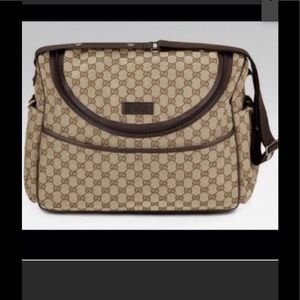 authentic Gucci diaper bag