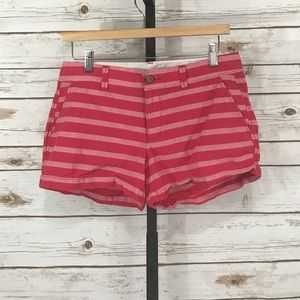 Old Navy Pink Striped Shorts (W14118)