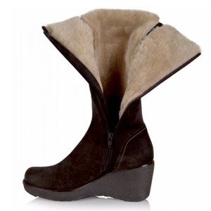 La Canadienne Veronique Shearling Boots NWB 9.5&11
