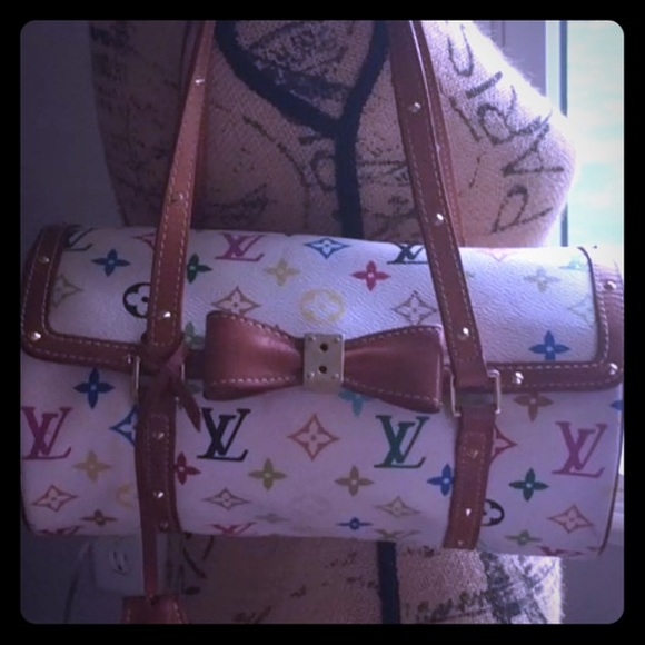 84243ad1fbc8 Louis Vuitton Handbags - Louis Vuitton multicolor monogram barrel bag