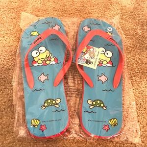 Other - NWT Sanrio Lootcrate Men's XL sandals flip flop