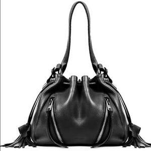 🍃💕HP Linea Pelle Leather Crossbody Bucket Bag