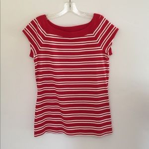 Red & White Striped NWOT