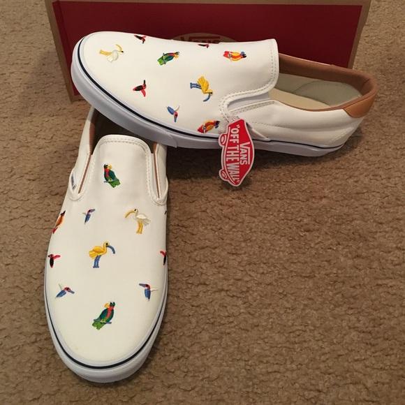 1735f954c30 Bird Embroidery Slip On 59 Vans