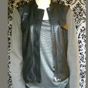 KUT From The Kloth~Moto Faux leather jacket