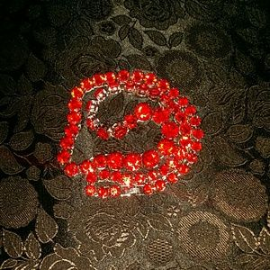 international Jewelry - Red necklace