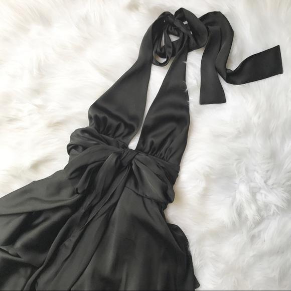 9c7ea28b825 Jill Stuart Dresses   Skirts - Jill Stuart Black Ruffle Tiered Halter Dress  4