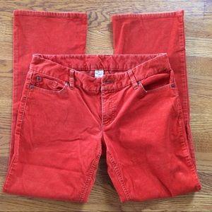 JCrew corduroys pants