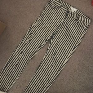 Pants - PINSTRIPED PAIR OF PANTS SIZE 7