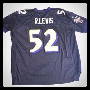 Ray Lewis Baltimore Ravens jersey shirt size 56