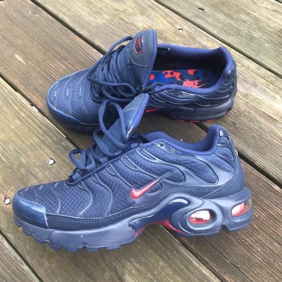 "pretty nice d0c2d 16383 Nike Air Max Plus Tuned 1 ""Boston"" TN size 6.5Y"