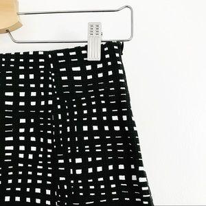3c870d9cb8 Theory Skirts | Black White Square Checkered Pencil Skirt | Poshmark