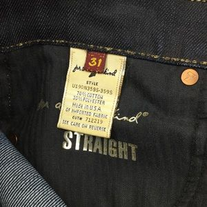 7 For All Mankind Jeans - 7 for all mankind Gold Digger Straight Jean Long