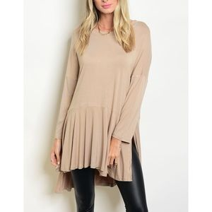 | OVERSIZED SIDE SLIT TUNIC |