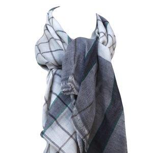 Other - 100% Cashmere plaid scarf Men's Women's Unisex