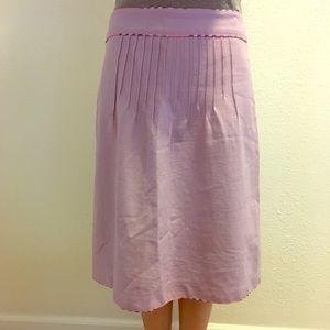 Light Purple Midi Skirt