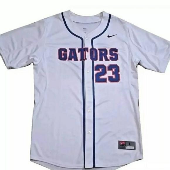 white gator jersey