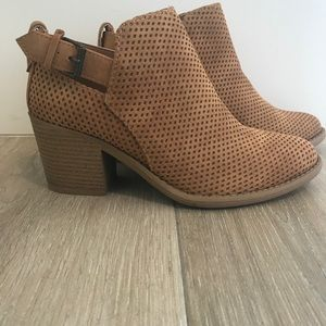 Reece Cut Out Belted Booties