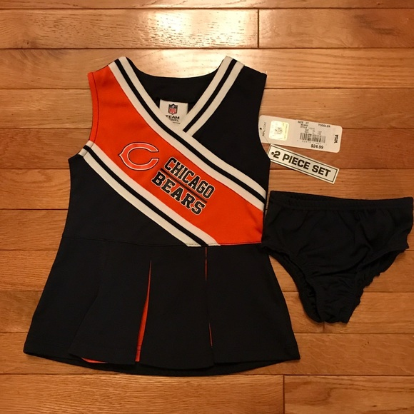 save off 110c4 8d4e1 NWT Chicago Bears cheerleader outfit NWT