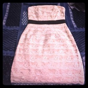 Nude lace dress from H&M
