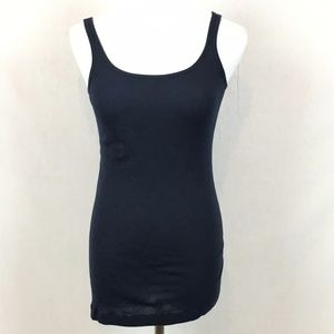 VINCE Basic ribbed cotton tank