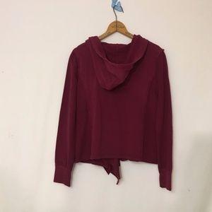 Modcloth Tops - New MODCLOTH my regular jaunt ruffle lace hoodie
