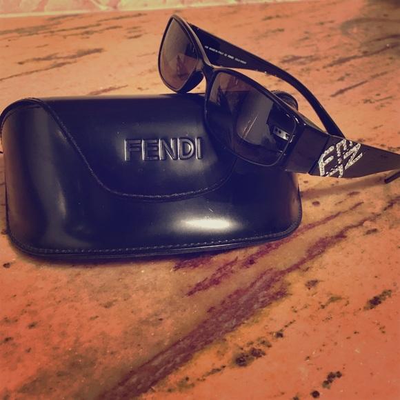 044b03c26e Fendi Accessories -  SALE  Fendi Designer Sunglasses Model Rhinestone