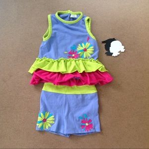 Limeapple little lime outfit 18m