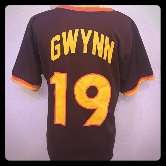 newest 5e048 a1090 ⚾️ #19 Tony Gwynn SD Padres Throwback Jersey ⚾️