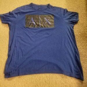 Armani Exchance Blue Size XXL Slim Fit used