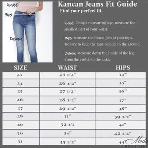 09e5a154b74 kancan Jeans - RESTOCKING! Kancan Lexis Pailo -Running Late- Jean
