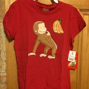 Curious George Sequin TeeNWT for sale