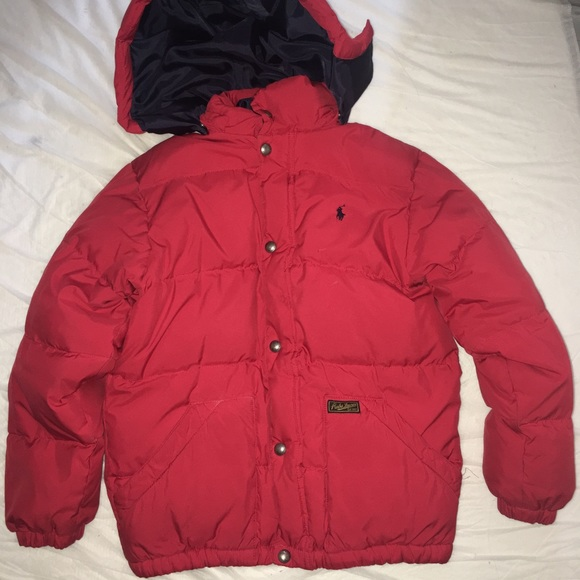 9a39f13e08 Ralph Lauren red Puffer Jacket