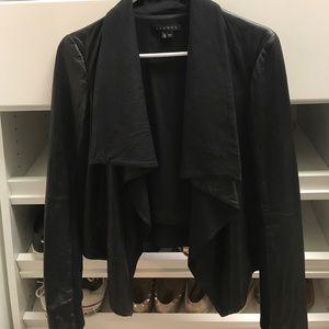 Black Leather Theory Jacket
