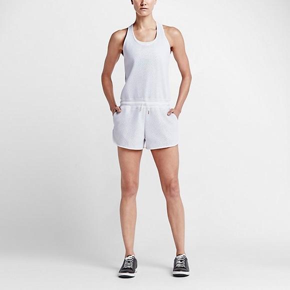 d99fc773b51 NWT Nike tennis court romper jumpsuit