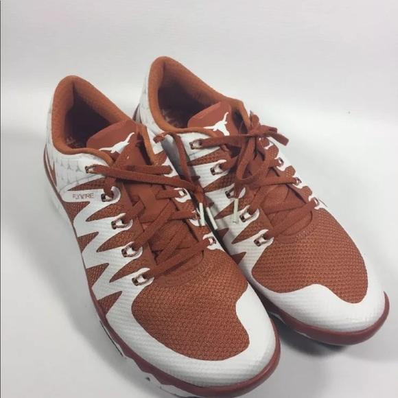 6c4b7c150fdba Nike Free Trainer 5.0 V6 AMP Texas Longhorns New