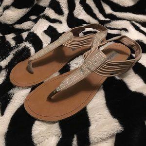 ✨PRICE DROP✨ STEVE MADDEN - Crystal Ankle Sandal