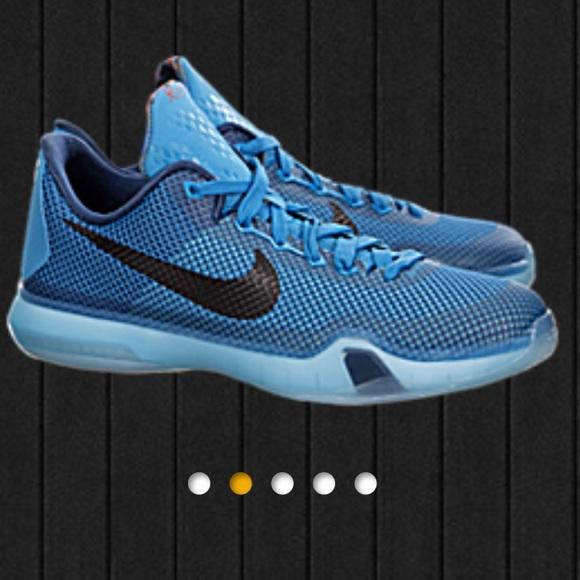 hot sale online beee6 1f943 Nike Kobe X 10 GS 5AM Flight Blue Lagoon Black. M 59946a4f4e8d1756a61eda35