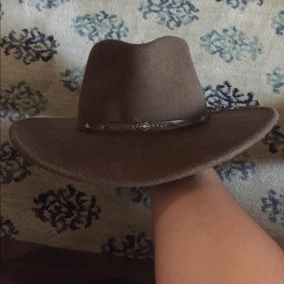Stetson Mountain Sky Wool Western Hat. M 59946b5a2ba50aa8f21f1dec c17aa36918f