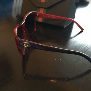 7f93e760e53ff Gucci Accessories - Gucci Sunglasses GG 3579 S Transparent Red Blue