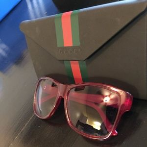 4532e69734672 Gucci Accessories - Gucci Sunglasses GG 3579 S Transparent Red Blue