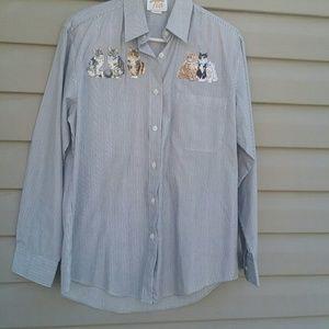 Tia button up shirt