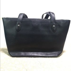 f72ef4b87e Lauren Ralph Lauren Bags - SALE⚡ Ralph Lauren Black Leather Medium Tote Bag
