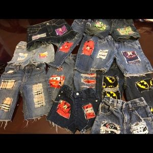 Pants - Customized distressed Jeans