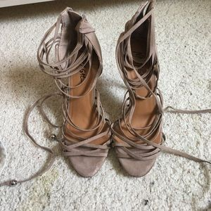 Nasty gal lace up sandals