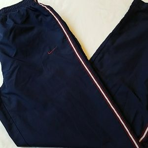 Nike Jogging zip leggs velcro bk pocket & 2 front