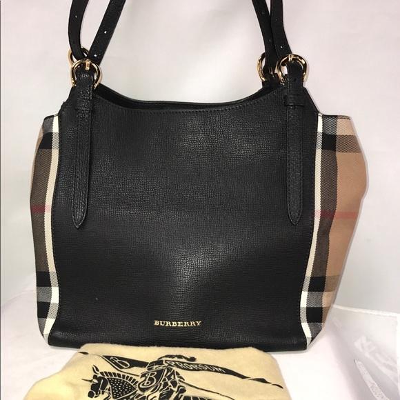 79d3e4c68b58 Burberry Handbags - 💯 Burberry Small Canterbury Leather Handbag Black