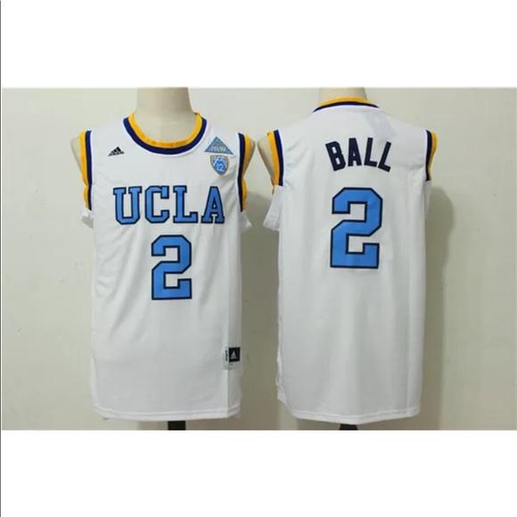 release date d9733 1953f NCAA Jersey LONZO BALL 2 UCLA Bruins Men's M NWT