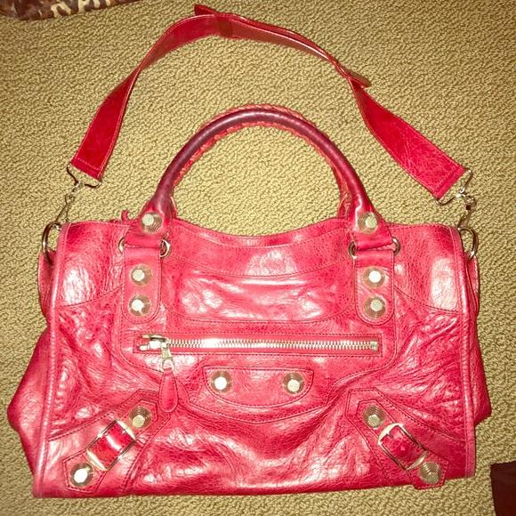 13582d719cb Balenciaga Bags   Giant Silver Hardware City Bag   Poshmark